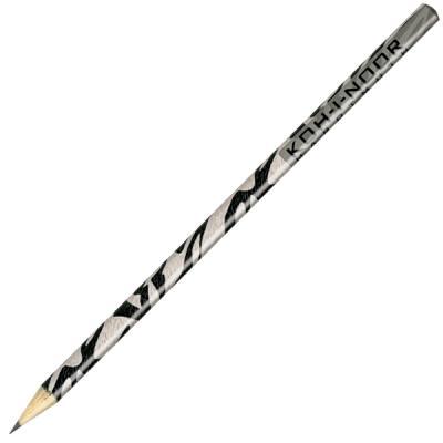 Карандаш чернографитный Koh-i-Noor LEOPARD, ZEBRA, GIRAFFE 180 мм 1271/36006 в ассортименте