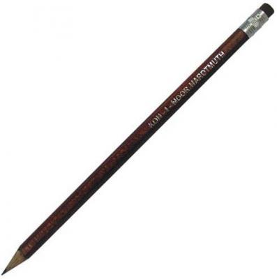 Карандаш чернографитный Koh-i-Noor 1383HB с ластиком 1383HB