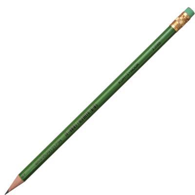 Карандаш чернографитный Koh-i-Noor 1395 лакированный корпус с ластиком 1395 карандаш чернографитный stabilo стабило swano с ластиком зеленый корпус 4907 010hb