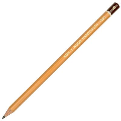 Карандаш чернографитный Koh-i-Noor 1500 3B деревянный лакированный корпус 1500 3B карандаш чернографитный koh i noor microkosmos 1231 36007 1231 36007