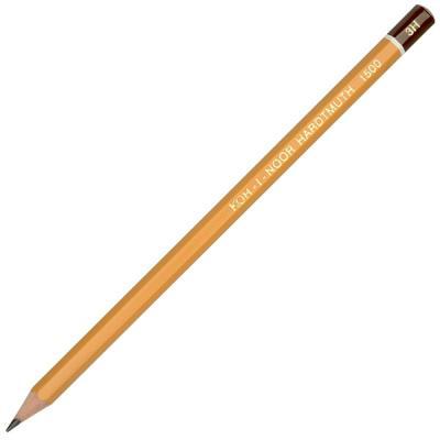Карандаш чернографитный Koh-i-Noor 1500 3H деревянный лакированный корпус 1500 3H