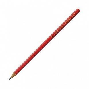 Карандаш чернографитный Koh-i-Noor Alpha 1703/01 красный лакированный корпус 1703/01