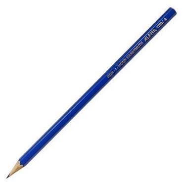 Карандаш чернографитный Koh-i-Noor Alpha HARDTMUTH 1703/04 синий лакированный корпус 1703/04
