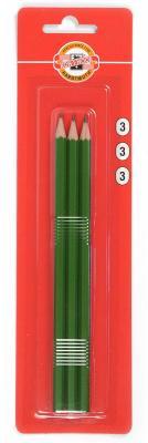 Карандаши чернографитные Koh-i-Noor Alpha 3 шт 1703/3 1703/3 boomerang alpha line 3