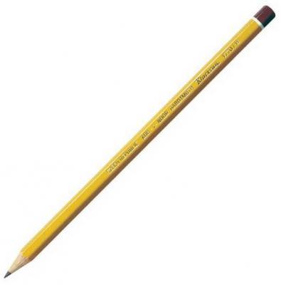 Карандаш чернографитный Koh-i-Noor Black Sun 1770/H лакированный корпус 1770/H карандаш чернографитный koh i noor microkosmos 1231 36007 1231 36007