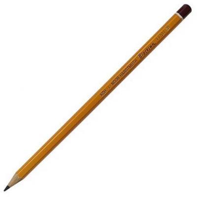 Карандаш чернографитный Koh-i-Noor Black Sun 1770/HB лакированный корпус 1770/HB карандаш чернографитный koh i noor 1696 лакированный корпус 1696