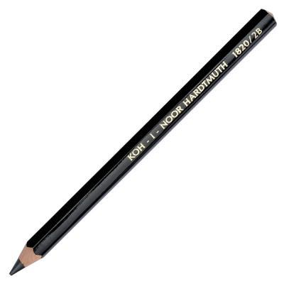 Карандаш чернографитный Koh-i-Noor Jumbo 1820 2B деревянный лакированный корпус 1820 2B koh i noor чернографитный карандаш 8971 2b 1 шт 897102b005kk
