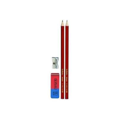 Карандаши чернографитные Herlitz Red-Blue HB 2 шт 170 мм 8670705