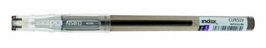 Гелевая ручка Index Cursiv черный 0.5 мм IGP1010/BK