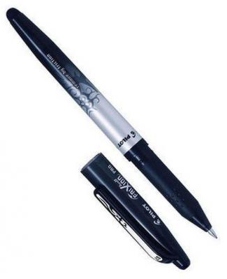 Гелевая ручка Pilot Frixion черный 0.7 мм BL-FRO7-B новый дизайн BL-FRO7-B