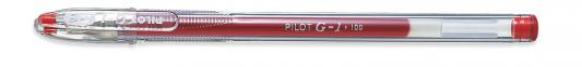 Гелевая ручка Pilot G-1 красный 0.5 мм BL-G1-5T-R BL-G1-5T-R набор гелевых ручек pilot g 1 синий 0 5 мм 2 шт в блистере b bl g1 5t l l