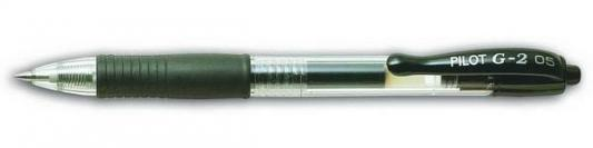 Гелевая ручка автоматическая Pilot G2-5 черный 0.5 мм BL-G2-5-B BL-G2-5-B aegismax g2 черный l