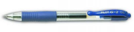 Гелевая ручка автоматическая Pilot G2-5 синий 0.5 мм BL-G2-5-L