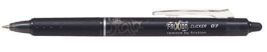 Гелевая ручка автоматическая Pilot Frixion Clicker черный 0.7 мм BLRT-FR-7-B