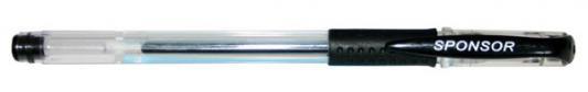 Гелевая ручка SPONSOR SGP02/BK черный 0.5 мм