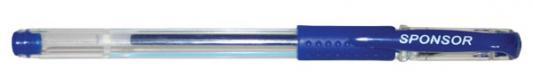 Гелевая ручка SPONSOR SGP02/BU синий 0.5 мм  SGP02/BU