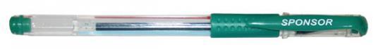 Гелевая ручка SPONSOR SGP02/GN зеленый 0.5 мм  SGP02/GN