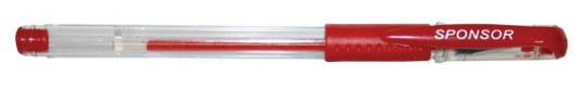 Гелевая ручка SPONSOR SGP02/RD красный 0.5 мм
