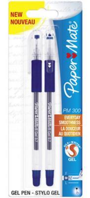 Гелевая ручка Paper Mate PM 300 2 шт синий 0.7 мм PM-S0929310 PM-S0929310