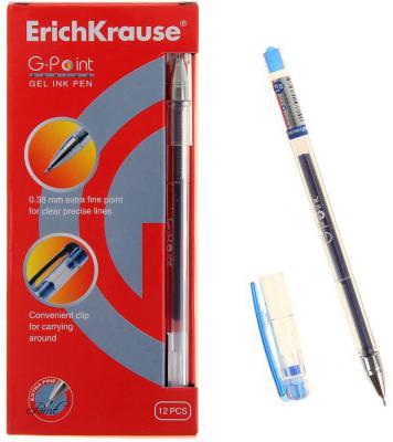 Гелевая ручка Erich Krause G-Point синий 0.38 мм 17627 17627