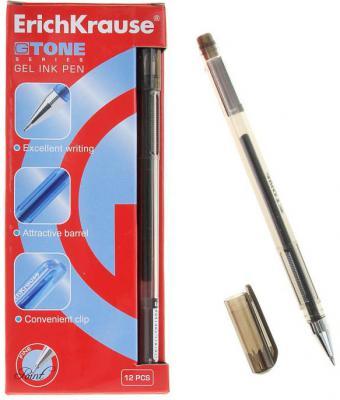 Гелевая ручка Erich Krause G-Tone черный 0.5 мм 17810