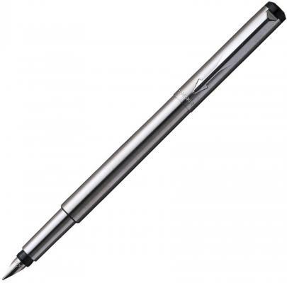 Перьевая ручка Parker VECTOR Stainless Steel синий 0.8 мм S0723480 PARKER-S0723480