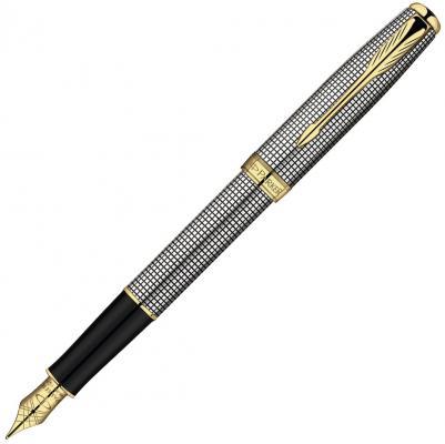 Перьевая ручка Parker SONNET Cisele GT синий позолота 23 К перо F S0808140 PARKER-S0808140