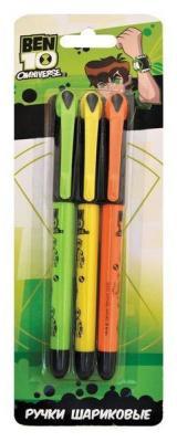 Набор шариковых ручек автоматическая Action! BEN10 3 шт синий BT-ABP152/3 BT-ABP152/3 набор шариковых ручек автоматическая