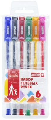 Набор гелевых ручек Action! AGP0601 6 шт разноцветный  AGP0601