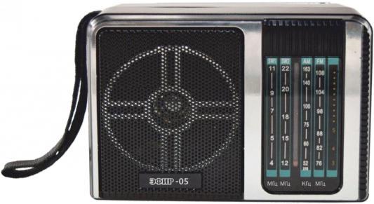 Радиоприемник Сигнал Эфир-05 черный