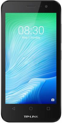 Смартфон Neffos Y5L жёлтый 4.5 8 Гб Wi-Fi GPS 3G TP801A смартфон micromax a107 cosmic grey 4 5 8 гб wi fi gps 3g 4 5 2sim 8гб gps wi fi 3g android 5 0 2000 ма ч