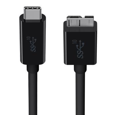 Кабель microUSB 1м Belkin F2CU031bt1M-BLK круглый кабель microusb 1м konoos круглый kc musb3ng
