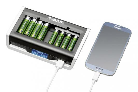 Зарядное устройство Varta LCD Multi Charger AA/AAA led zeppelin mothership 4 lp
