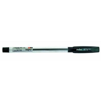 Шариковая ручка Index BETA GRIP черный 0.7 мм  IBP348/BK