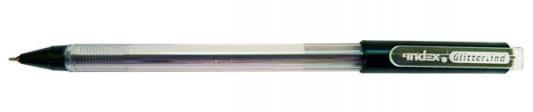 Шариковая ручка Index Glittertind черный 0.7 мм IBP502/BK IBP502/BK