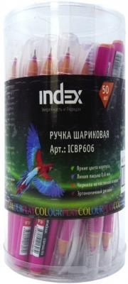 Шариковая ручка Index ColourPlay красный 0.6 мм ICBP606/RD ICBP606/RD
