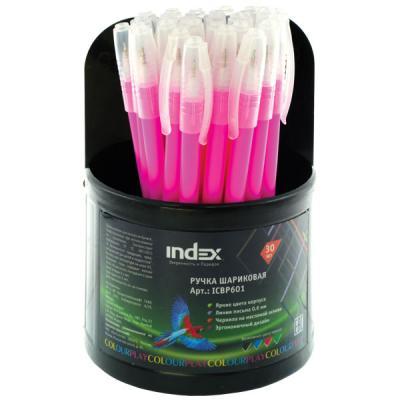 Шариковая ручка Index ColourPlay красный 0.6 мм ICBP601/RD
