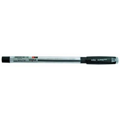 Шариковая ручка Index ALPHA GRIP черный 0.7 мм IBP306/BK шариковая ручка index alpha grip синий 0 7 мм ibp306 bu ibp306 bu