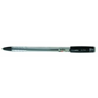 Шариковая ручка Index ALPHA черный 0.7 мм IBP315/BK