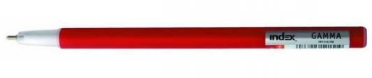 Шариковая ручка Index Gamma красный 1 мм IBP349/RD шариковая ручка index gamma черный 1 мм ibp349 bk ibp349 bk