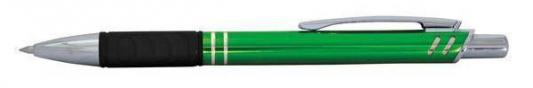 Шариковая ручка автоматическая Index IMWT1134/GN/бшк синий 0.5 мм