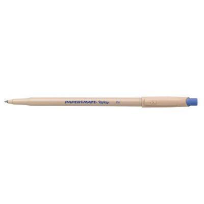 цена на Шариковая ручка автоматическая Paper Mate REPLAY синий 1 мм