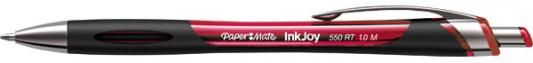 Шариковая ручка автоматическая Paper Mate INK JOY 550 красный 1 мм PM-S0977230 paper mate lubriglide refill medium point 2 pk black ink