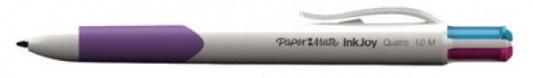 Шариковая ручка автоматическая Paper Mate Quatro разноцветный 1 мм 1842251
