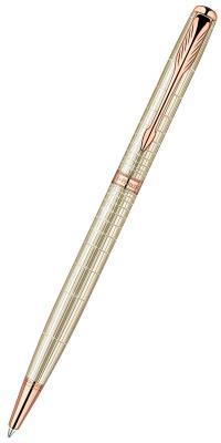 Шариковая ручка Parker SONNET Slim Feminine Silver PGT черный гравировка на корпусе М PARKER-S1859495 толстовка tommy hilfiger denim толстовка