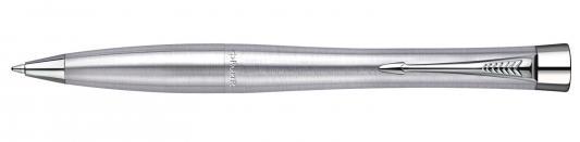 Шариковая ручка поворотная Parker Urban Metro Metallic CT синий S0767120 PARKER-S0767120