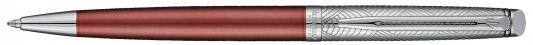 Шариковая ручка поворотная Waterman Hemisphere Deluxe Privee синий M 1971674 ручка waterman s0952360