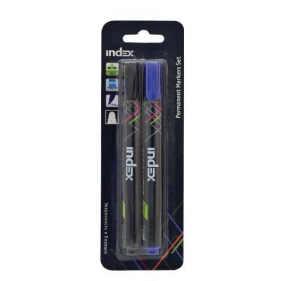 Набор маркеров Index IMP560/2 1 мм 2 шт разноцветный IMP560/2 компрессор кондиционера toyota camry 2 2 2 2 2 0 97 5s 95