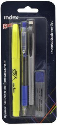 Маркер Index ISS-set 0.5 мм 4 шт синий ISS-set