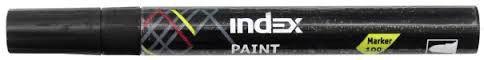 Маркер лаковый Index IPM100/BK черный  IPM100/BK